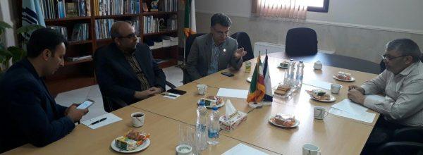 برگزاری کمیته پدافند غیرعامل دانشگاه در دفتر معاونت پژوهشی