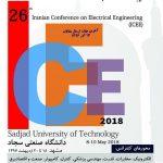 بيست و ششمين کنفرانس مهندسي برق ايران