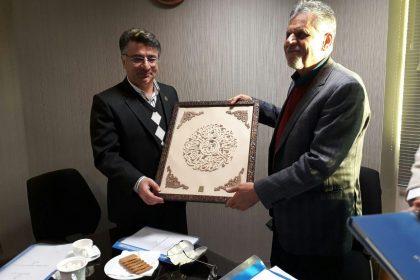 دیدار با رئیس صندوق حمایت از پژوهشگران و فناوران کشور