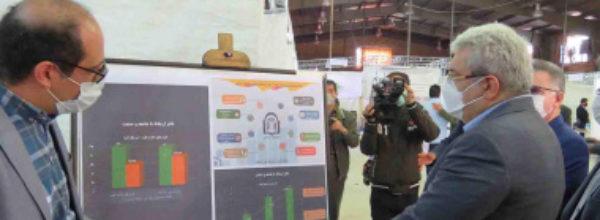 بازدید معاون علمی و فناوری رئیس جمهور از دانشگاه دامغان در سفر یکروزه ایشان به استان سمنان